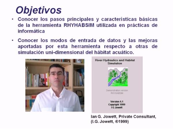 Simulación del Hábitat Unidimensional en ríos con RHYHABSIM