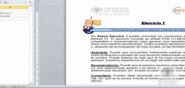 Tareas Unidad Asesor Financiero UPV