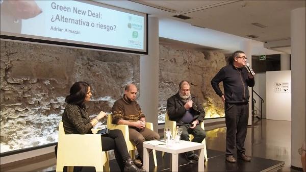 Conferencia Adrián Almazán 27 de enero 2020
