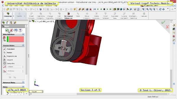 Creación Virtual Modelo Lego Technic - Isogawa ¿ ev3-0069 ¿ 3 de 5