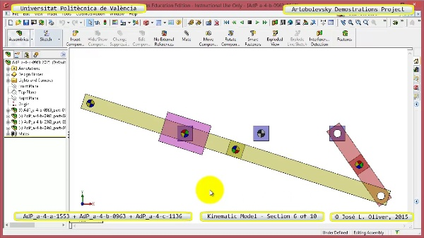 Simulación Mecanismos a-4-1553-0963-1136 con Cosmos Motion - 06 de 10