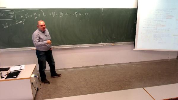 Física 1. Lección 4. Fuerza conservativa y Energía potencial