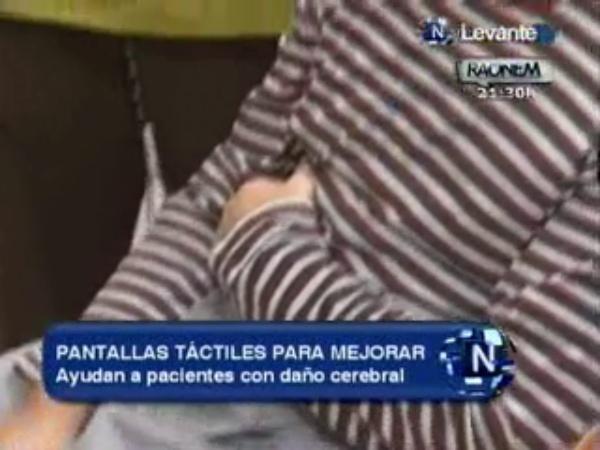 Pantallas táctiles para rehabilitación cognitiva LevanteTV