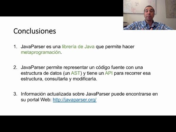 La librería JavaParser ¿qué es y para qué sirve?