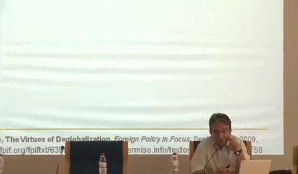 José María Tortosa - Los desafíos del desarrollo en el siglo XXI - parte 3 de 4