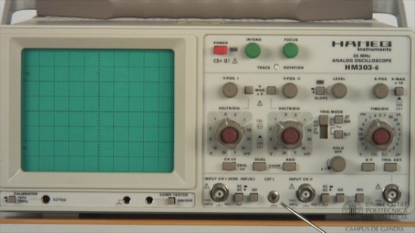 Osciloscopio Analógico. Deflexión Vertical