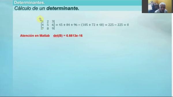 M1-ELE-40 Determinantes. Definición. Propiedades