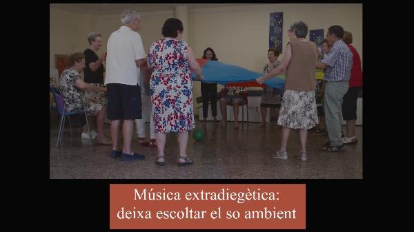 Anàlisi diacrònica de l'extensió de la música diegètica a extradiegètica en la peça audiovisual