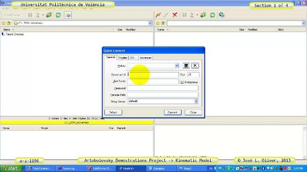 Simulación Mecanismo a_z_1196 con Cosmos Motion - 1 de 4