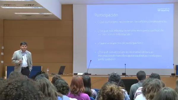 Carlos Barahona - Combinando cuantitativa y cualitativa en la elaboración de estadísticas participativas - parte 2 de 4