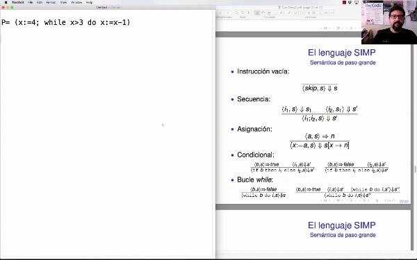 LTP. Tema 2.3.7. Semántica operacional de paso grande (big-step): ejemplo
