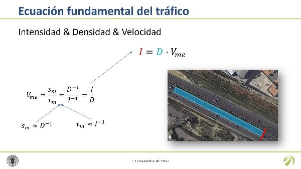 La ecuación fundamental del tráfico