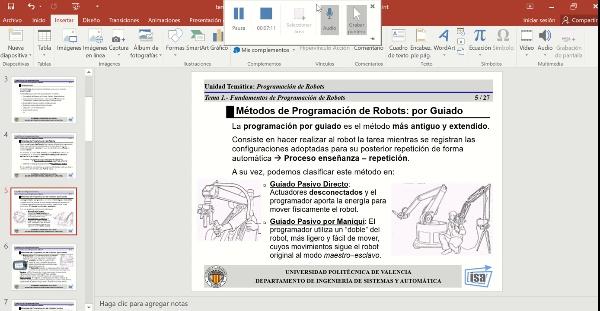 12626 Robotica (GIM) Tema 5 (Parte 1)
