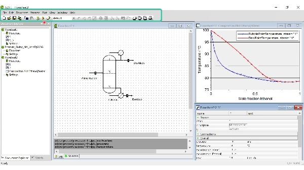 Simulación de procesos químicos con COCO: Introducción al software