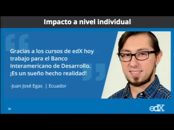 SPOC Gestión de MOOC. Marketing de edX. Reflexiones sobre el correo personalizado