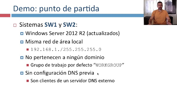 Creación de dominios Active Directory en Windows Server 2012 R2