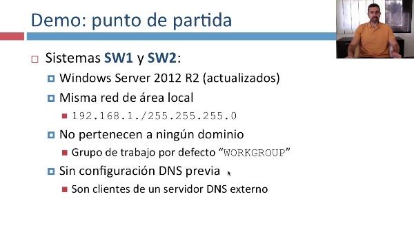 Creación de dominios Active Directory en Windows Server 2012 R2