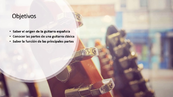 PARTES DE LA GUITARRA CLÁSICA