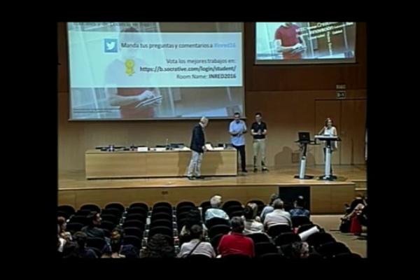 INRED2016. Entrega de los premios a los mejores trabajos INRED 2016 y de los premios ¿Docencia en Red UPV¿