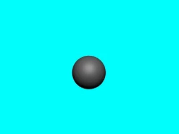 GaussE_2: Superficie exterior a un conductor esférico sobre la que se aplicará el teorema de Gauss