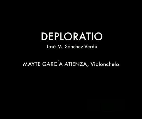 (Audio) Deploratio, Francisco Guerrero in memoriam / José Mª Sánchez-Verdú / Mayte García Atienza