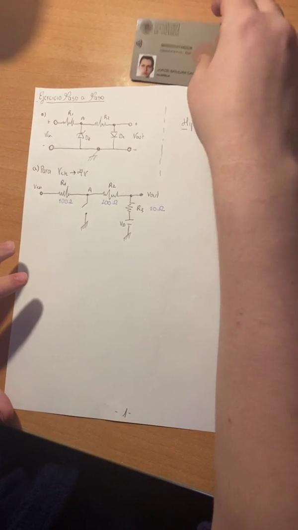 Ejercicio Variación TCO- Diodos