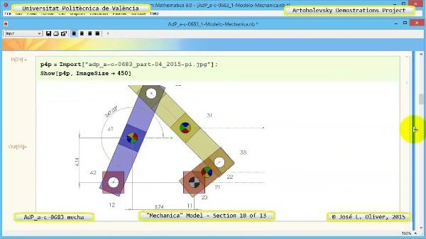 Simulación Mecanismo a-c-0683 con Mechanica - 10 de 13