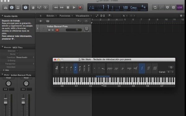 Tutorial Logic X 6.3 Controles MIDI