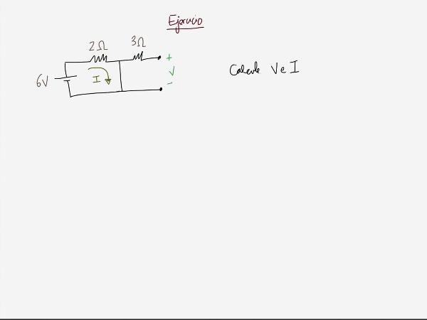 Teoría de Circuitos 1. Lección 3. 3.b.2 cortocircuito y circuito abierto, ejercicio 2