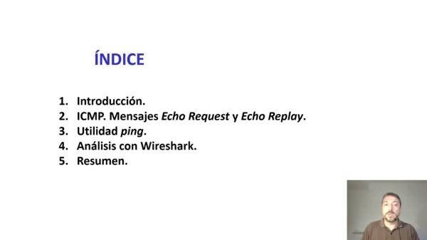 Análisis de la utilidad ping mediante wireshark
