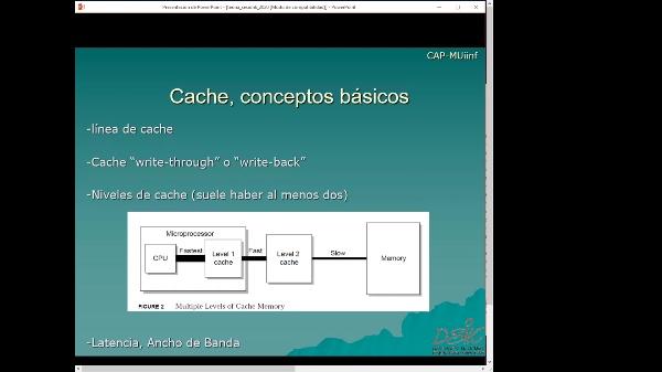 Jerarquía de caches-CAP-teoría-sesión 6.1