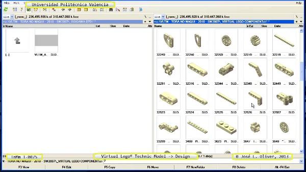 Creación Virtual Modelo Lego Technic - Isogawa - T-0075 ¿ no audio