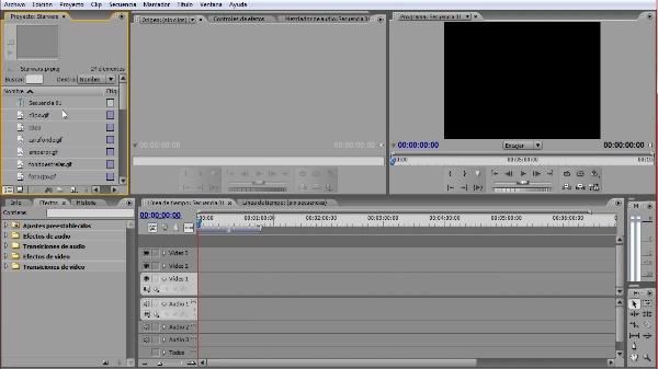 Un recorrido por Adobe Premiere Pro