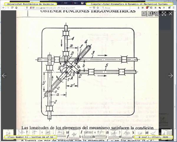 Mecánica y Teoría de Mecanismos ¿ 2020 ¿ MM - Clase 13 ¿ Tramo 04 de 10