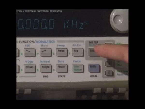 Generador de funciones HP33120A
