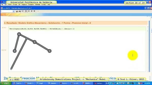 Simulación Mecanismo a_c_0683 con Mechanica - 19 de 19