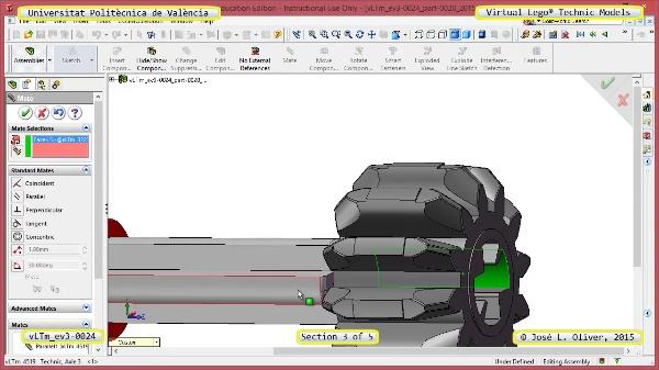 Creación Virtual Modelo Lego Technic - Isogawa ¿ ev3-0024 ¿ 3 de 5