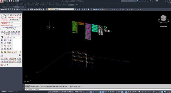 Angle 2021- Tutorial 03. Análisis del pórtico modelado.