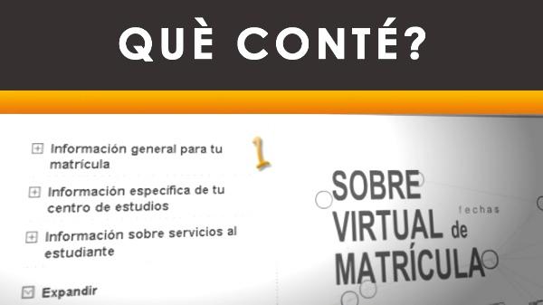 Sobre virtual de matrícula - 2010 - Valencià