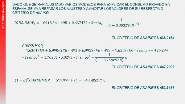 UT11T6 Selección del modelo ARIMAX