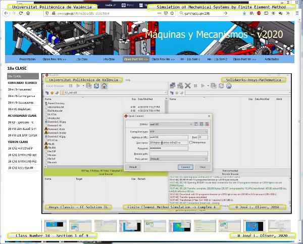Tecnología de Máquinas ¿ 2020 ¿ TM - Clase 18 ¿ Tramo 01 de 09