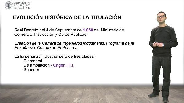 Evolución histórica de la profesión de Ingeniero Técnico Industrial