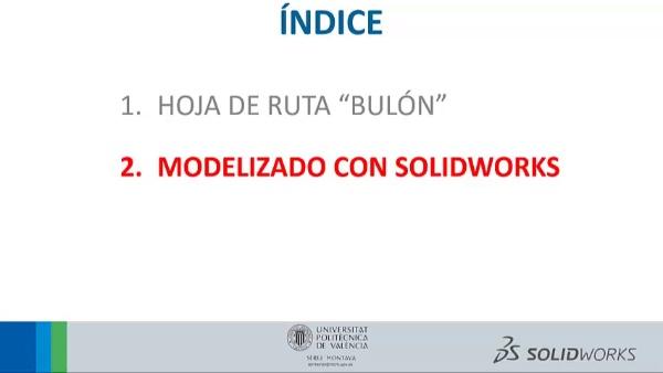 SolidWorks - Pieza BULON
