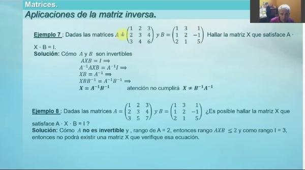 M1-ELE-36 Matriz Inversa propiedades