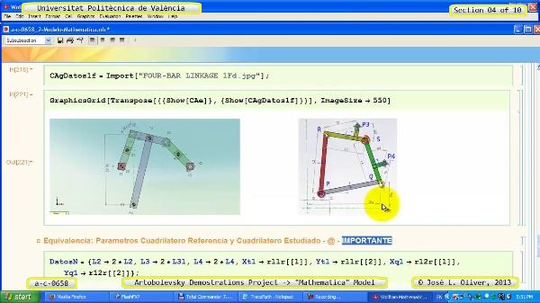 Solución Cinemática Simbólica a_c_0658 con Mathematica -A- 04 de 10