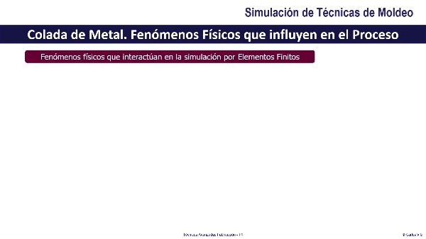 Simulación de Técnicas de Moldeo