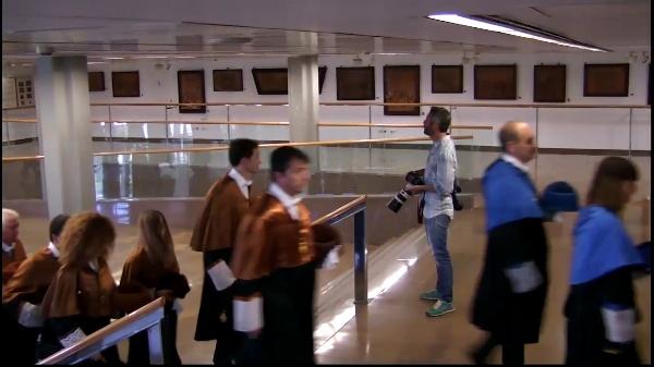 Acto de Investidura como doctor honoris causa del Dr. Vladimir Fortov, nuevos doctores y doctoras