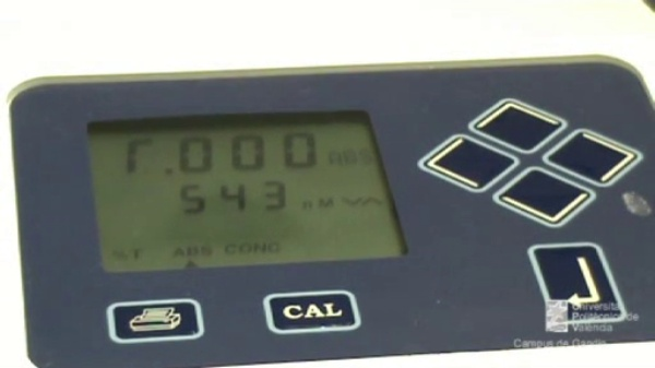 Determinació de nitrits en mostres d'aigua: mesura de l'absorbància