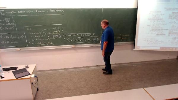 Física 1. Lección 2. Ejemplo MAS energía y trabajo