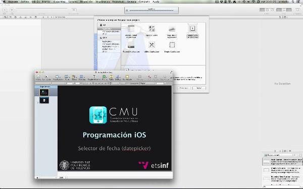Programación iOS. Date Picker